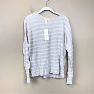 New with tags Eileen fisher organic linen top s